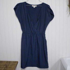 Forever 21 Essentials dress Navy Blue S/P V-neck